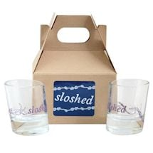 Drunken Sailor Glassware - Sloshed Shot Set