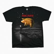 Pig Over London Pink Floyd Tee