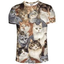 Cats All Over Shirts
