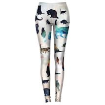 Colorful Galaxy Cat Leggings