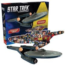 Star Trek Die Cut Puzzle