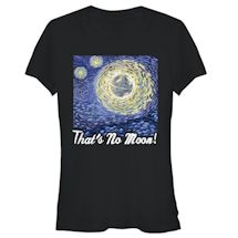 That's No Moon Ladies' Tee