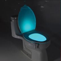 Color-Changing Toilet Bowl Light