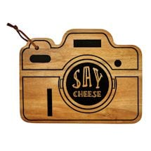 Retro Camera Cheese Board
