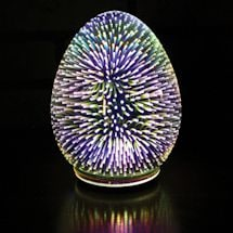 Oval Starburst Led Light