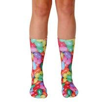 Jelly Bean Crew Socks