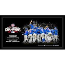 Chicago Cubs World Series Celebration Framed Collage