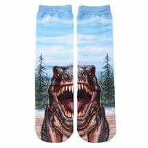 T-Rex Crew Socks