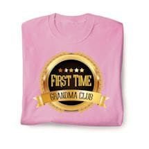 First Time Club Shirts - Grandma