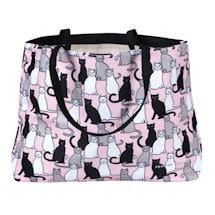 Sitting Cats Tote Bag