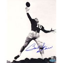 Bart Starr Alabama B&W 8x10 Photo (TS Auth)