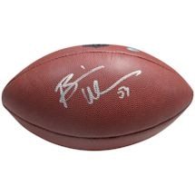 Brian Urlacher Signed Wilson NFL Full Size Football ( SchwartzSports Auth)
