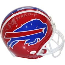 "Darryl Talley Buffalo Bills Authentic Helmet w/""4X AFC Champ"" Insc."