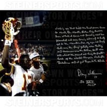 Doug Williams Signed Super Bowl 16x20 Story Photo
