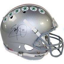 Eddie George Signed Ohio State Buckeyes Schutt Full Size Replica Helmet