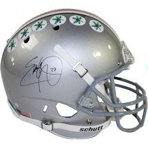 Eddie George Signed Ohio State Buckeyes Schutt Mini Helmet