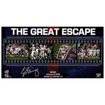 Eli Manning Great Escape Filmstrip Collage 12x23 Photo for MANNPHB012000