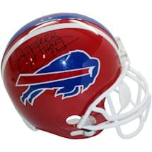 "Jim Kelly Buffalo Bills  Red Replica Helmet w/HOF ""Insc."