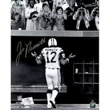 Joe Namath Walking Off the Field Shrug to Ladies 16x20 Photo