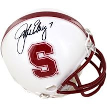 John Elway Signed Stanford Mini Helmet