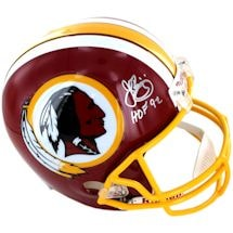 John Riggins Signed Washington Redskins Authentic Helmet w/ HOF 92 insc