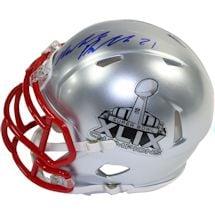 Malcolm Butler Signed Superbowl 49 Champions Mini Speed Helmet