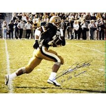 "Rod Woodson Purdue 16x20 Photo w/ ""86 All American"" insc"