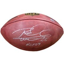 Rod Woodson Signed Duke Football w/ HOF 09 Inscription