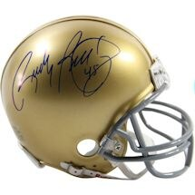 Rudy Ruettiger Notre Dame Mini Helmet