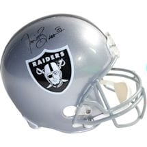 Tim Brown Signed Raiders Replica Helmet