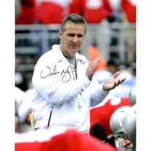 "Urban Meyer OSU Signed ""Clapping"" 16x20 Photo (Urban Meyer Auth)"