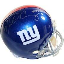Victor Cruz Signed New York Giants Full Size Replica Helmet
