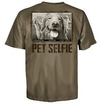 Pet Selfie Tee- Golden and Goose Tee