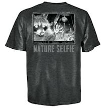 Nature Selfie Raccoon Tee