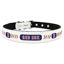 MLB Leather Baseball Pet Collar