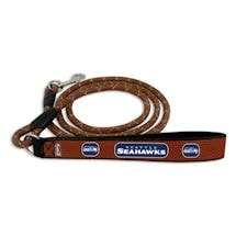 NFL Leather Football Pet Leash