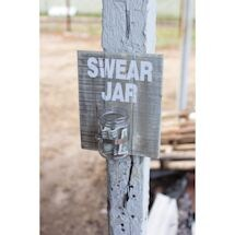Swear Jar Wall Plaque