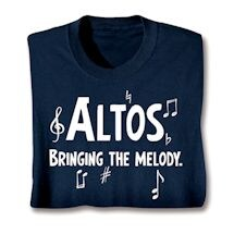 Parts Of A Choir Shirts - Altos