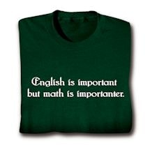 Math Is Importanter T-Shirt