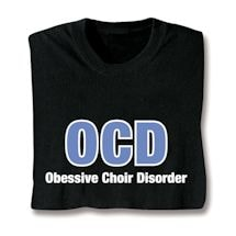 Choir Shirts - Ocd