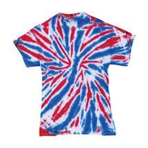 Red, White And Blue Tie-Dye Tee
