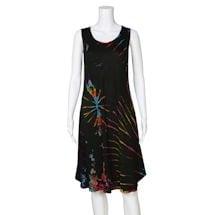 Tie-Dye Sleeveless Dress
