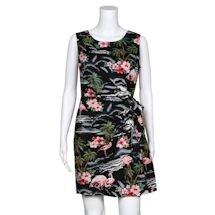 Flamingo Sarong Dress
