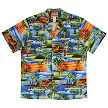 Tiki Aloha Camp Shirt