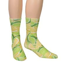 Fruit Crew Socks - Lemon/Limes