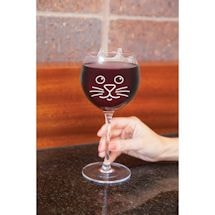 Pet Wine Glasses - Cat