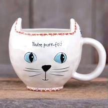 Purr-Fect Mugs - White