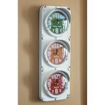 Traffic Signal 3-In-1 Clock