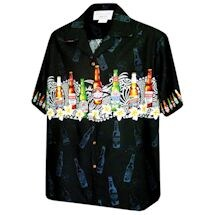 Beer Bottle Camp Shirt