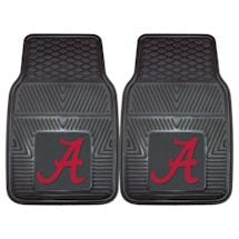 NCAA Vinyl Car Mats Set Of 2